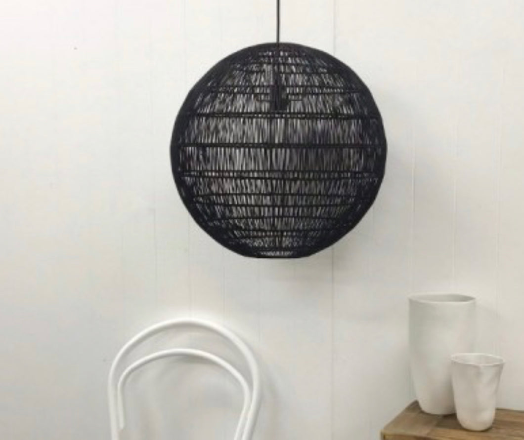 Black Kudo pendant light