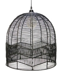 Pinto Black rattan Lamp shade