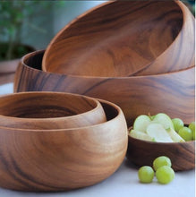 Load image into Gallery viewer, Teak Timber Bowl