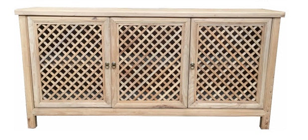 Lattice Elmwood sideboard