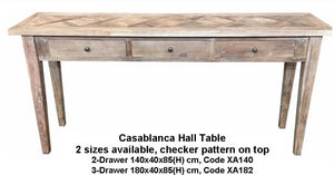 Casablanca Hall Table