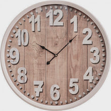 Load image into Gallery viewer, Clock Madera White