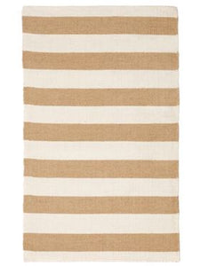 Neutral Stripe floor rug