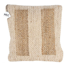 Load image into Gallery viewer, Natural Jute design Cushion