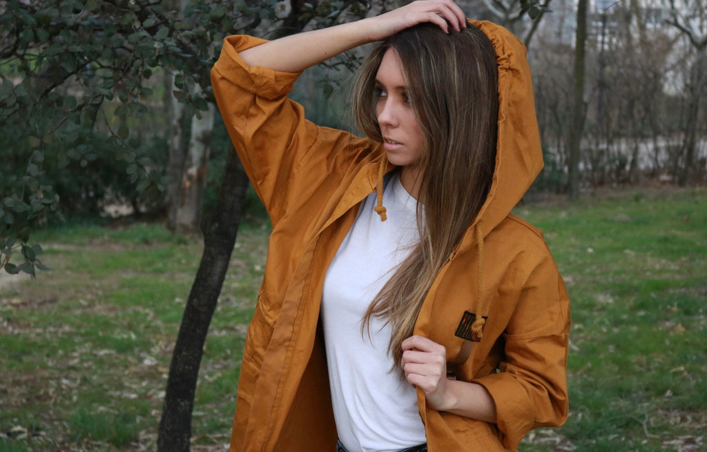 Parka press mostaza