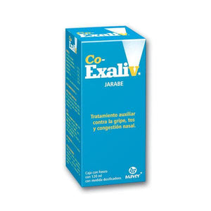 CO-EXALIV JBE. CAJA C/FCO. C/120 ML.