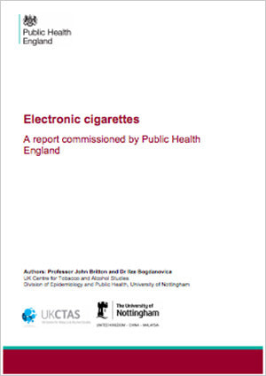 Electronic cigarettes - commissioned by Public Health England