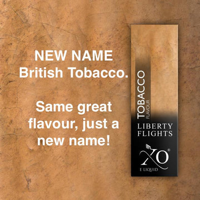 British Tobacco Vape Liquid (previously Tobacco Virginia)