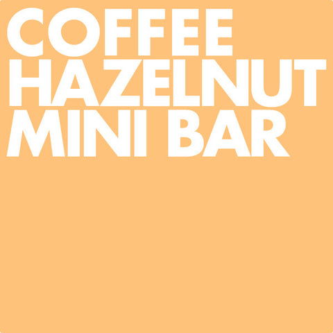 Coffee Hazelnut Mini Bar