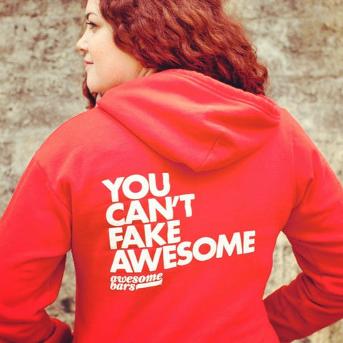 You Can't Fake Awesome Hoodie