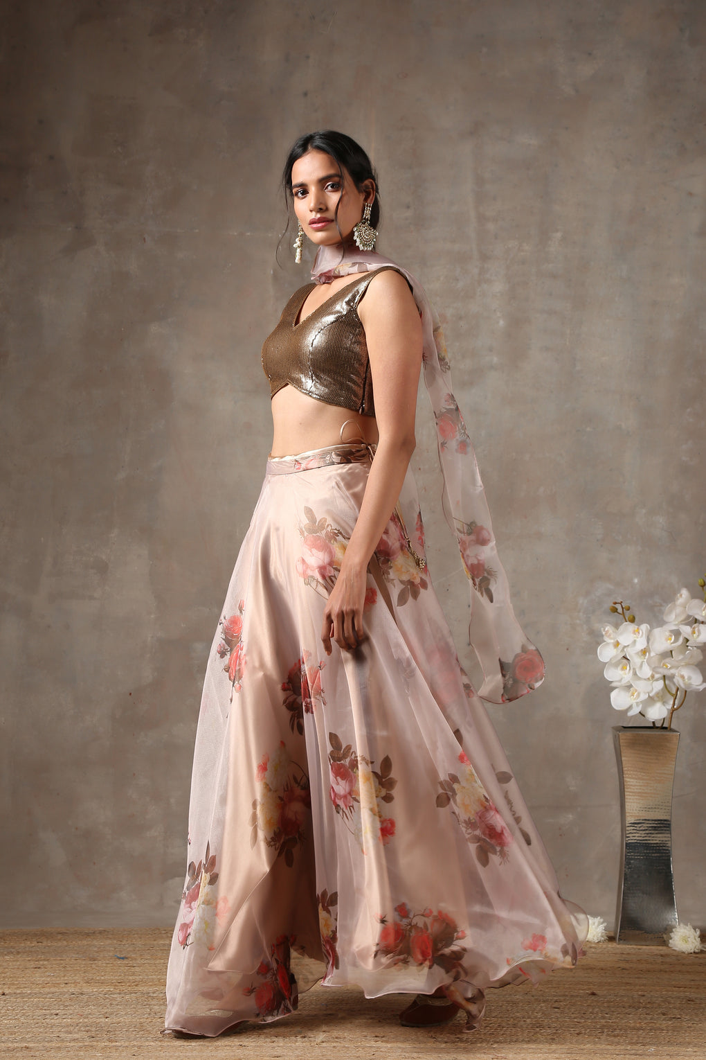 Rose Breeze Lehenga