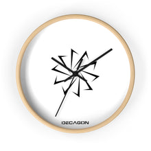 Load image into Gallery viewer, Decagon Wall Clock