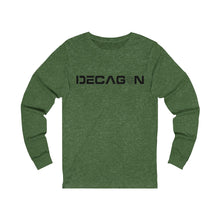 Load image into Gallery viewer, Decagon Unisex Jersey Long Sleeve Tee