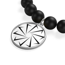 Load image into Gallery viewer, Decagon Matte Onyx Bracelet