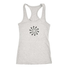 Load image into Gallery viewer, Decagon Logo Racerback Dank Tank