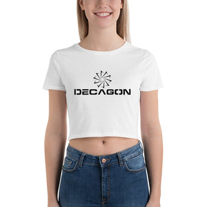 Decagon Women's Crop Tee