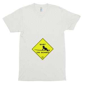 "Short sleeve ""Baby on Board"" Surfer tee"