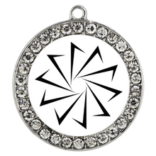 Load image into Gallery viewer, Decagon Stone Coin Necklace