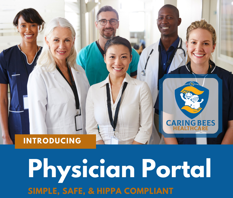 At home health care, physician portal