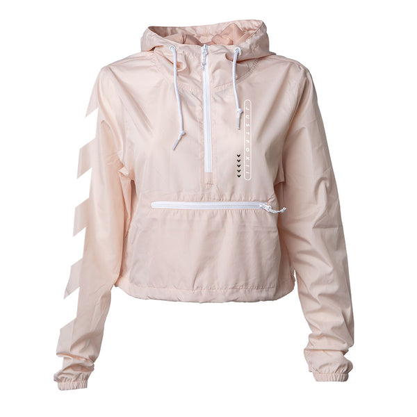 justfoxii Pill Combo Girls Lightweight Crop Windbreaker