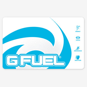 G FUEL Mousepad - Blue Ice