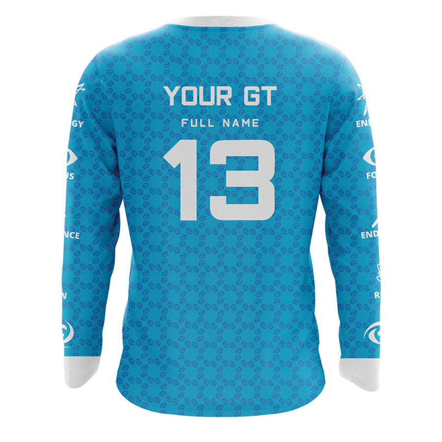 Custom G FUEL Long Sleeve Jersey