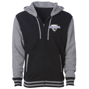 Catawba Icon Heart FX Hooded Varsity Jacket