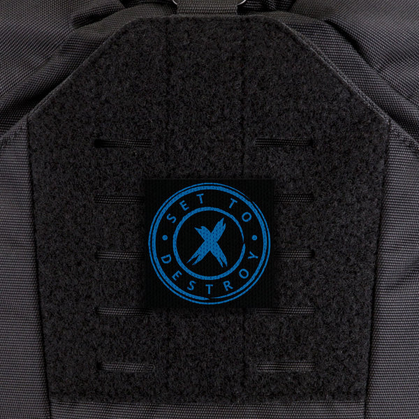 EGL FLYTE Patches - SetToDestroyX Circle - Clearance Item