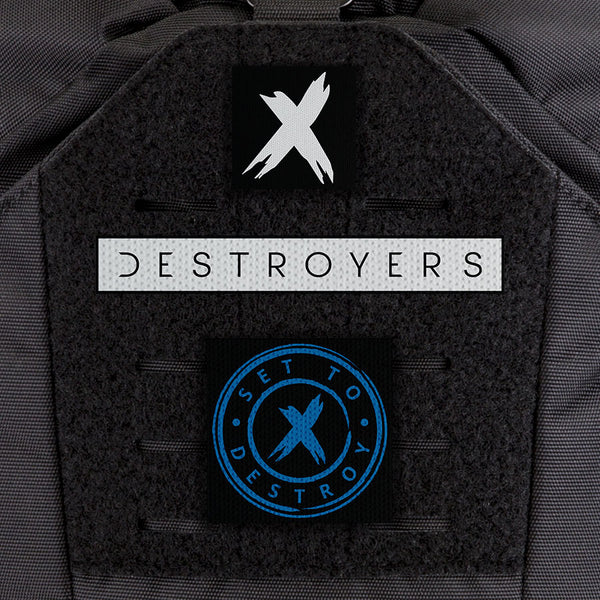 EGL FLYTE Patches - SetToDestroyX Patch Kit - Clearance Item