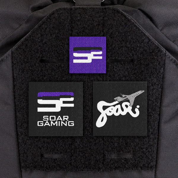 EGL FLYTE Patches - SoaR Gaming Patch Kit - Clearance Item
