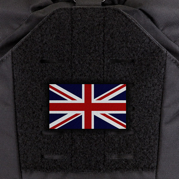 EGL FLYTE Patches - United Kingdom Flag - Clearance Item