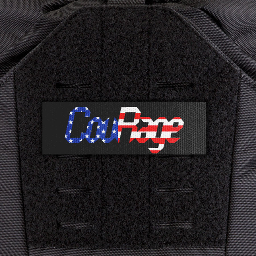 EGL FLYTE Patches - CouRage Flag