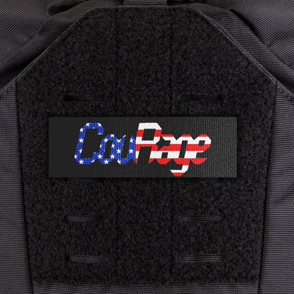 EGL FLYTE Patches - CouRage Flag - Clearance Item