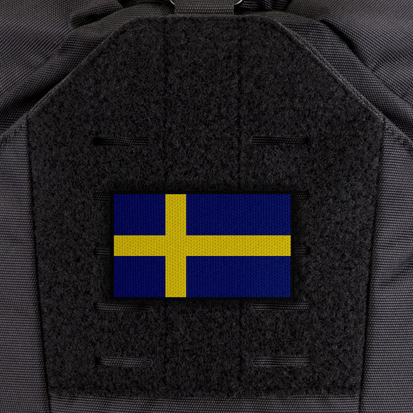 EGL FLYTE Patches - Sweden Flag - Clearance Item