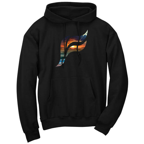 Felo Icon FX Sunset Hoodie - Blk