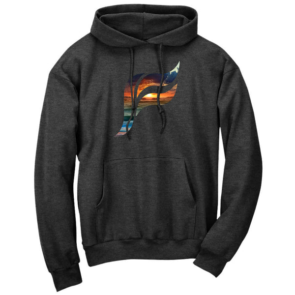Felo Icon FX Sunset Hoodie - ChclHthr