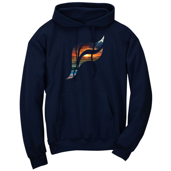 Felo Icon FX Sunset Hoodie - Nvy