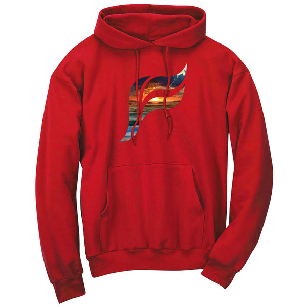 Felo Icon FX Sunset Hoodie - Red