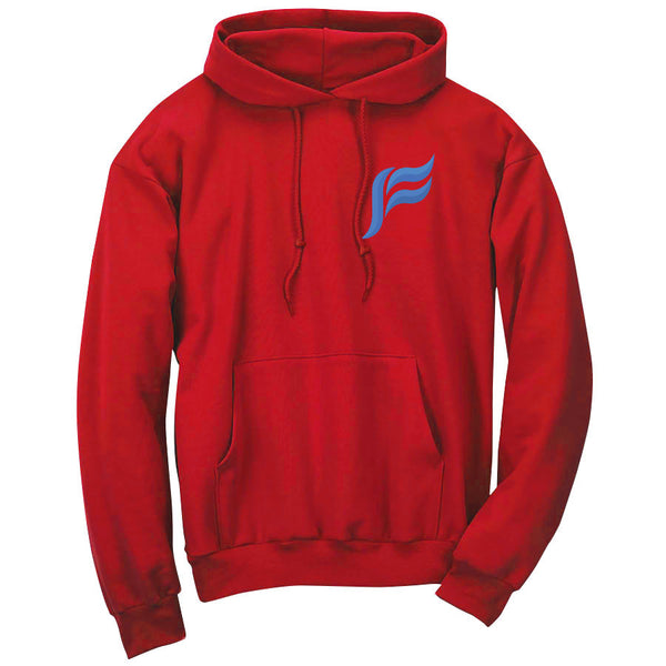 Felo Icon Heart FX Hoodie - Red