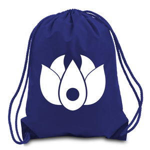 Flowers Icon Cinch Bag