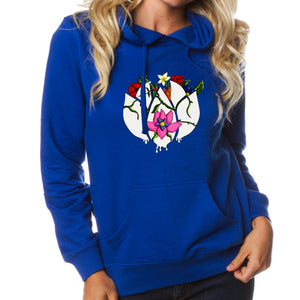 Flowers Icon FX Girls Hoodie
