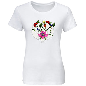 Flowers Icon FX Girls Short Sleeve