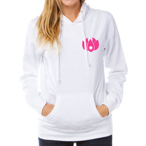 Flowers Icon Heart Girls Hoodie