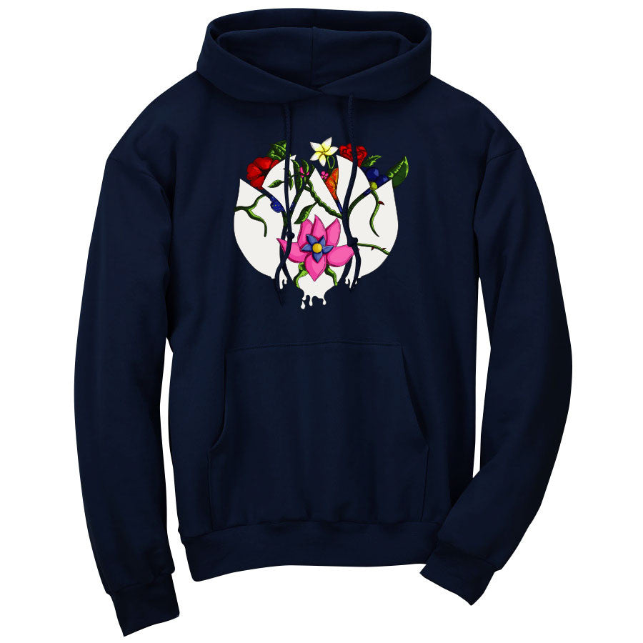 Flowers Icon FX Hoodie - Nvy