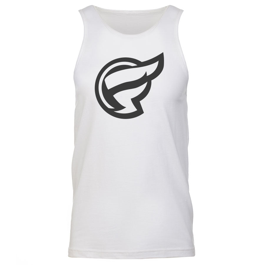 Frozone Icon Tank Top - DGry on Wht