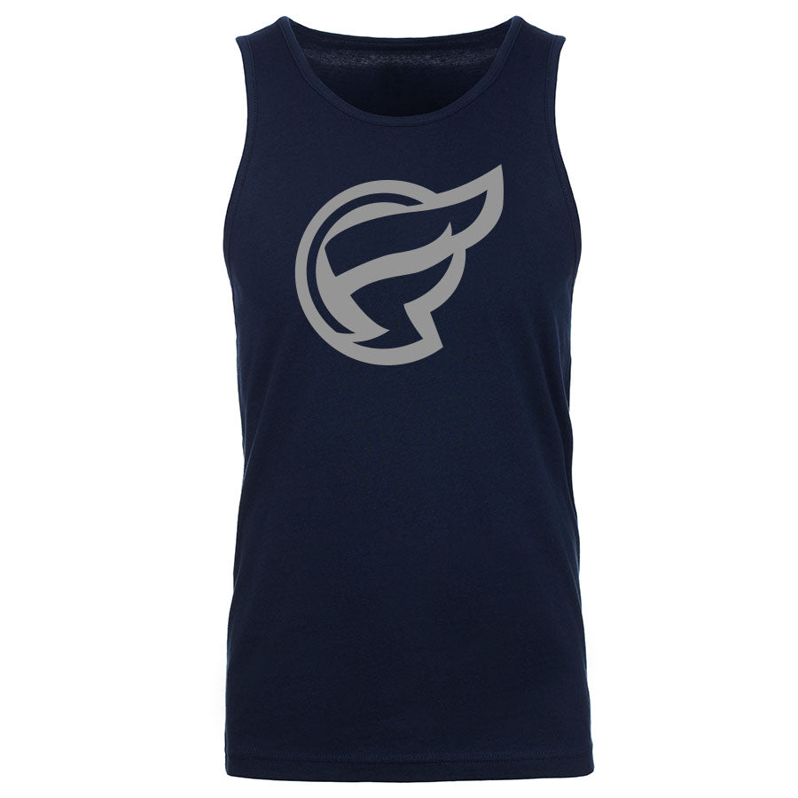 Frozone Icon Tank Top - Gry on Nvy