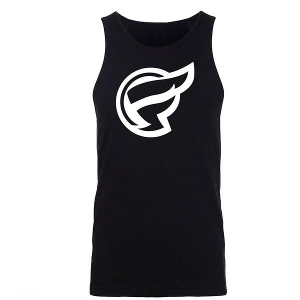 Frozone Icon Tank Top - Wht on Blk