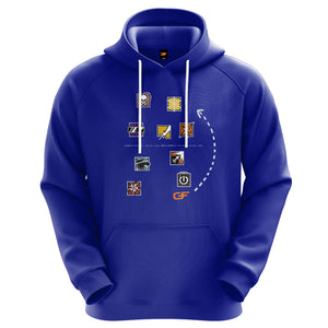 Get Flanked Premium Label Performance Hoodie - Operator