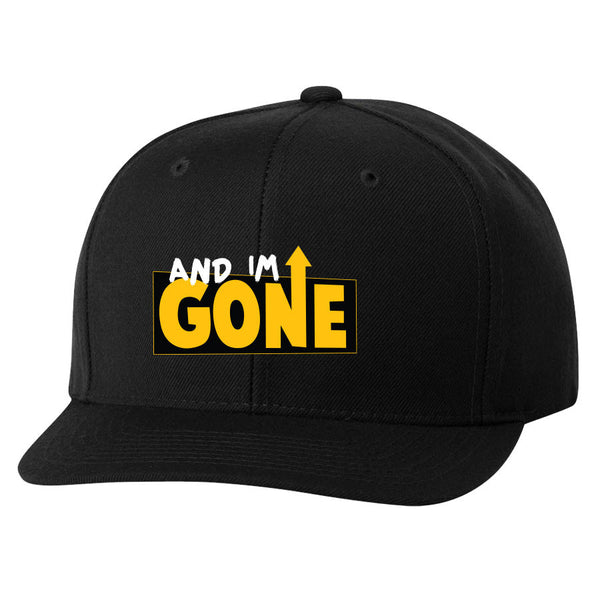 Gone Icon FX 6 Panel Snapback Hat - Blk