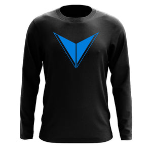 Graves Icon Long Sleeve - NBlu on Blk